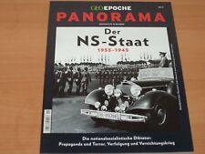"""GEO EPOCHE PANORAMA Nr. 11 """"Der NS-Staat 1933-1945"""" NEUWERTIG!"""