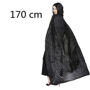 Hooded Cloak Long Robe Witch Capes Wizard witch Prince Princess COS Costume