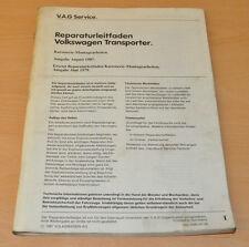 VW Transporter T3 Karosserie Montagearbeiten Deckel Klappen Türen