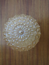 Glaskugel Glocke Ersatzglas Deckenlampe True Vintage Pressglas germany Lampen