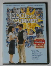 (500) Days of Summer  U.S. dvd in standard case, sealed