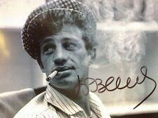 Jean Paul Belmondo Fabulous 8 X 10 PHOTO  SIGNED GUARANTEED AUTHENTIC FAB