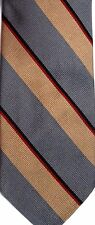 "Andhurst Men's Silk/Polyester Tie 56.5"" X 3.25"" Multiple Color American Stripes"