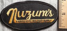 NUZUM'S FARM & HOME BUILDING SUPPLY PATCH (HARDWARE, LUMBER)