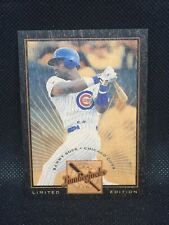 1996 Leaf Lmt SAMMY SOSA LIMITED EDITION LUMBERJACKS 142/250 Rare SP MINT