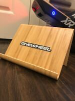 The Bamboo Wave Onewheel Stand - fits all STOCK Onewheel plus, Pint, XR boards