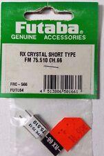Futaba # FRC-566 FUTL6466 Rx Crystal Short Type FM 75.510 CH 66 75MHz