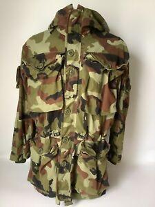 Irish Defence Force Issue Camouflage Smock Scare Paddy Flage Size Medium ( 6 )