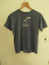"""Mens Grey Xplicit Novelty To the Pub T-Shirt in Size Small - Chest 41"""" - faded"""