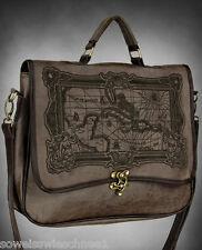 Restyle Handtasche Caribbean Sea Steampunk Tasche Gothic A4 Bag Kunst-Leder C