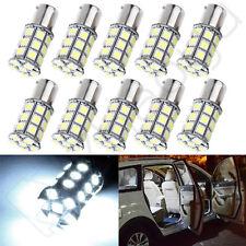 10X High Power Lamp 1156 1141 BA15S White 27SMD LED Car Ultra Brake Light Bulb