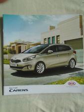 Kia Carens 7 places Gamme brochure Aug 2013