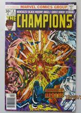 The Champions #8 Near Mint- Nm- 9.2 Black Widow Ghost Rider Iceman Hercules