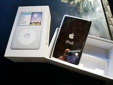 ICONIC *Apple iPod Classic* RARE 6th Generation /2ND REVISION / Silver (160GB)