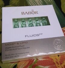 Babor  Moist & Lipid Algae Active Fluid 7 ampoules NEW IN BOX