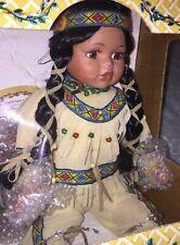 1999 Crowne Fine Porcelain Doll - Native American