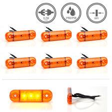 LED-MARTIN® 6er Sparset Umrissleuchte ORANGE 12/24V Begrenzungsleuchte Positions