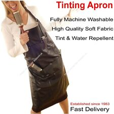 APRON Hairdressing Salon Beauty BLACK Unisex With Pockets Hair Tools Adjustable