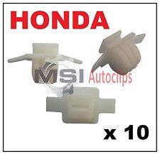 10 X HONDA CIVIC & CRV PASSARUOTA stampaggio tagliare clip di fissaggio