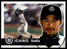 2001 Fleer Tradition Ichiro Suzuki RC Mariners #452