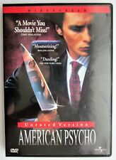 American Psycho (Unrated Dvd. Christian Bale, Reese Witherspoon, Willem Dafoe)