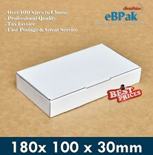 20x Mailing Box 180x100x30mm - Diecut Cardboard Mailer for Accessories & Parts