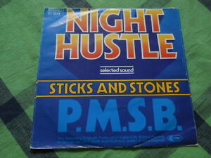 P.M.S.B. Selected Sound & Night Hustle    '7' - washed/gewaschen
