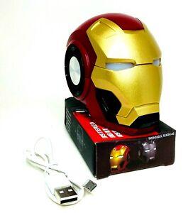 Iron Man Mark-46 Helmet MINI Bluetoot Speaker,Subwoofer Audio,Mp3 and TF Card