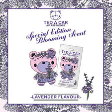 TED A CAR Lavender Scented Car & Home Air Freshener TEDACAR Teddy Little Tree
