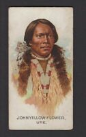 1888 Allen & Ginter N2 Celebrated American Indian Chiefs John Yellow Flower