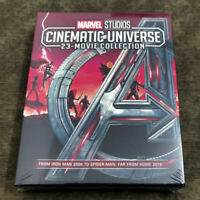 ALL 23 MARVEL CINEMATIC UNIVERSE MOVIE COLLECTION 8 BLU-RAY Ships 1st Class