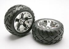 Traxxas Mounted Anaconda Tires/All Star Chrome Wheels 5576R TRA5576R