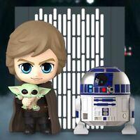 Hot Toys COSBABY LUKE SKYWALKER R2-D2 THE CHILD Bobblehead Star Wars Mandalorian