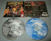 MegaRace 2 - PC Computer CD MindScape Video Game 2-Disc Set - COMPLETE in Case!