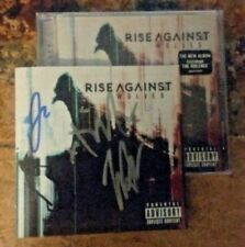 RISE AGAINST Wolves SIGNED Autographed CD