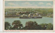 Menai Bridge, Paddle Steamer La Maguerite, Peacock Postcard, B570