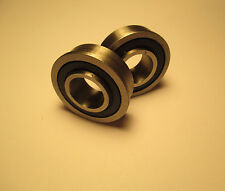 (2) 6202-5/8-2RS Bearings with rubber seal
