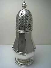 AMERICAN SOLID STERLING SILVER SUGAR CASTER MUFFINEER SHAKER ca1920s N/A Maker