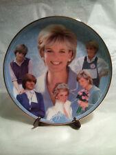 "Princess Diana Memorial Plate ~ By Danbury Mint ~ ""DIANA THE PEOPLE'S PRINCESS """