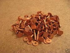 Copper Rivets & Burrs 3/4