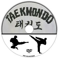 TAEKWONDO STEP BY STEP MARTIAL ARTS GUIDE NEW DVD LEARN KICKS DEFENCES & ATTACKS