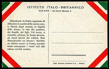 Cartolina Postale nuova - Istituto Italo-Britannico