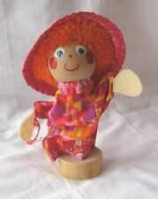 Marionette en bois + support charliluce Fabrication Française.