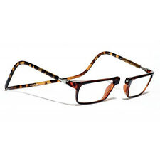 CliC +3 Diopter Magnetic Reading Glasses: Executive  Tortoise, Cheaters, Readers