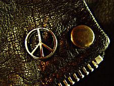 Peace Symbol Classic Vintage Old School Motorcycle Vest Biker Pin 1309