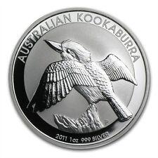 Perth Mint Australia $1 Dollar Kookaburra 2011 1 oz .999 Silver Coin