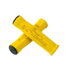 Propalm Bike Bicycle Handlebar Sponge Soft Grips MTB Folding Fixed Gear Yellow
