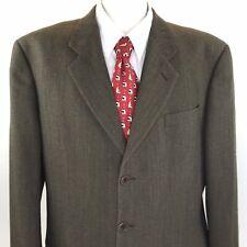 e958b1cf91a43d ARMANI Men's Suit Jacket Sport Coat Blazer Green 3 Button Vintage Italy 44 L