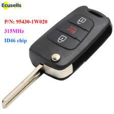 Upgraded Folding Remote Key 315MHz ID46 for Kia Rio 2012-2013 P/N: 95430-1W020