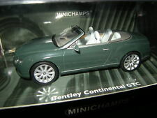 1:43 Minichamps BENTLEY CONTINENTAL GTC 2011 GREEN/VERDE N. 436139060 OVP